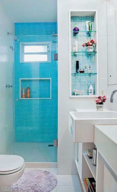 decoracao de banheiro barata e simples