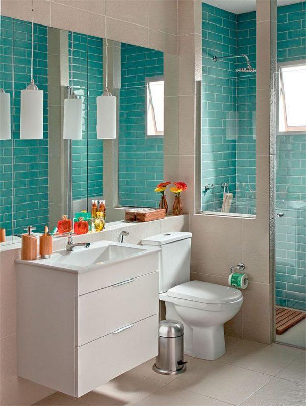 decoracao barata e simples para banheiro