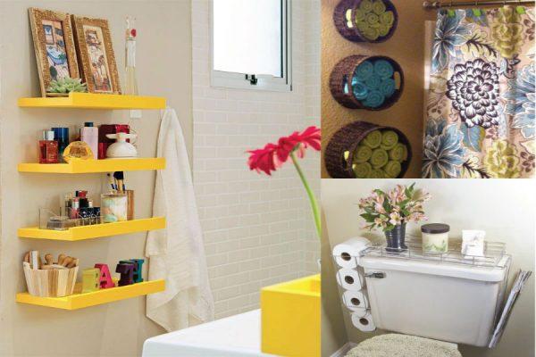 decoracao de banheiro simples e barata