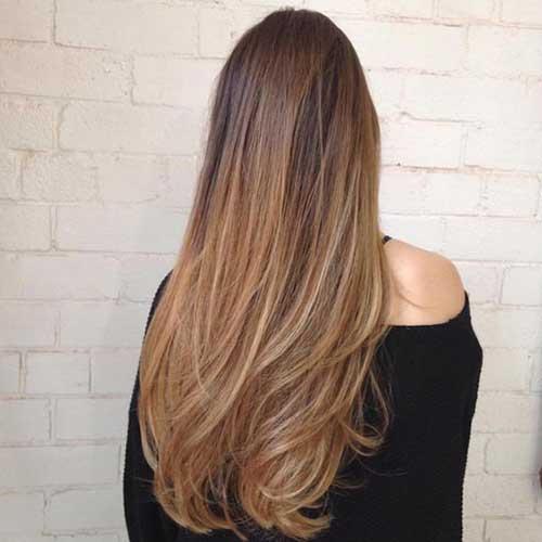 lindos cabelos com luzes longos