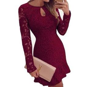 vestido para inverno de festa