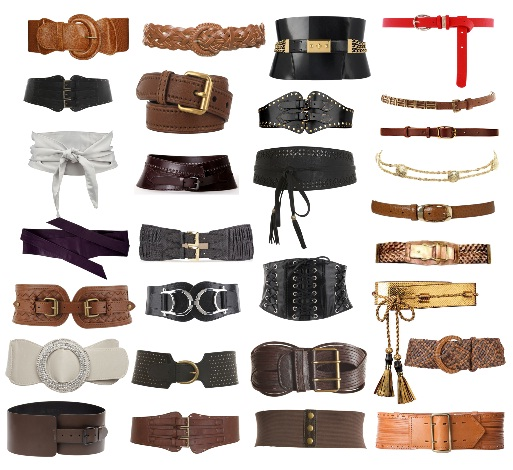 cintos de mulher da moda