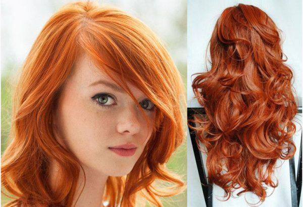 cabelos curtos ruivos