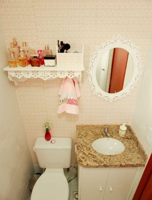 decoracao de banheiro barata