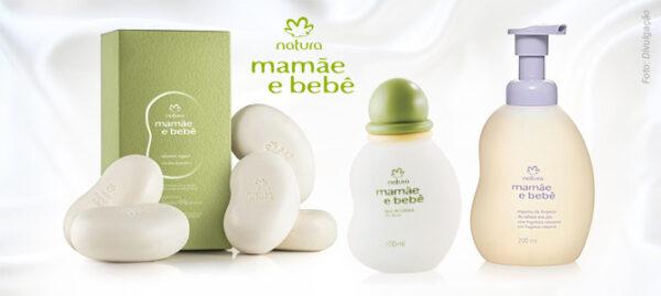 produtos natura mamae bebe
