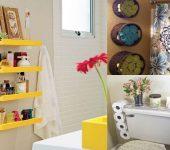 Decoração de banheiro simples e barata - veja dicas especiais